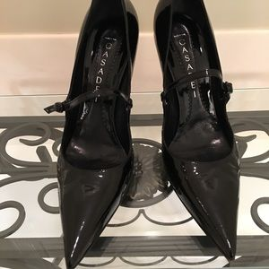 Casadei Shoes - Casadei black patent Mary Jane pristine! 9