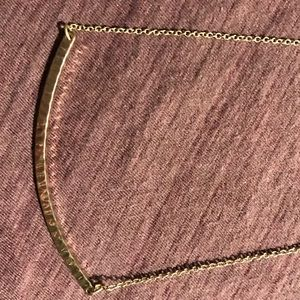Towne & Reese Jewelry - Towns and Reese Hammered Gold Necklace