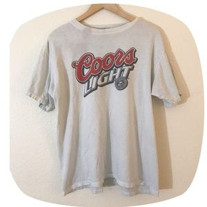 •90's VTG Coors Light Fav Tee•