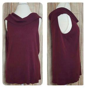 Ann Taylor Sweaters - Ann Taylor silk Blend sleeveless cowl neck top 2X