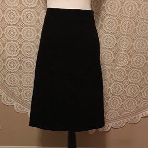 Cato Dresses & Skirts - Cato Black Textured Pencil Skirt