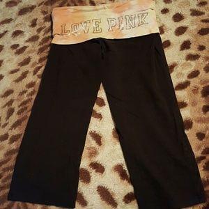 PINK Victoria's Secret Pants - Victoria's Secret Yoga Capris