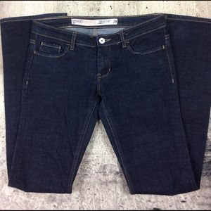 Good Society low rise boot cut jeans