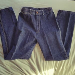Vtg 70's High Waist Jeans