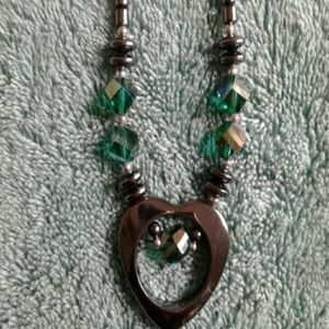 Hematite-like Necklace
