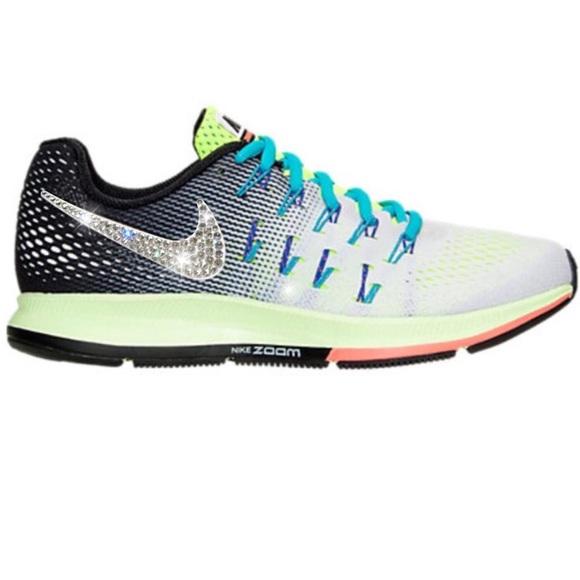 a16b35a67eb16 Nike Shoes | Bling Air Zoom Pegasus 33 W Swarovski | Poshmark