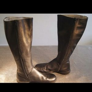 Camper Shoes - CAMPER ZIP UP LEATHER CLASSIC TALL BOOTS SIZE 6