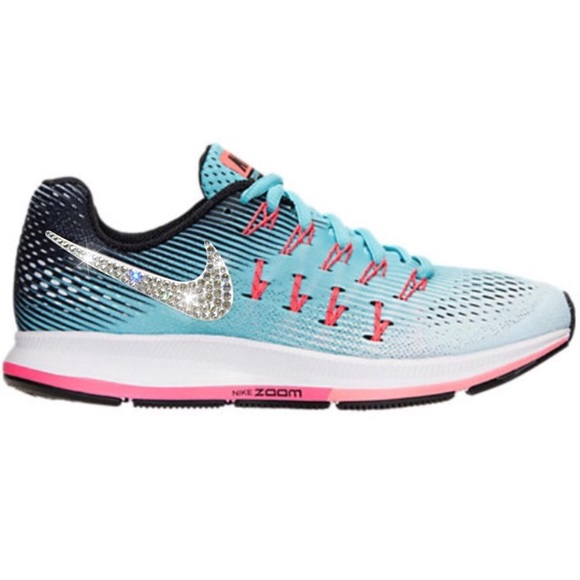 9d8f1f0bda67 Bling Nike Air Zoom Pegasus 33 Shoes w  Swarovski