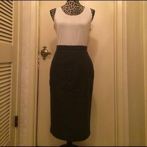 Natan Dresses & Skirts - Wool Pencil Skirt