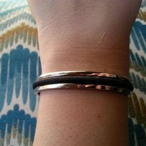 "Jewelry - NEW! Stainless Steel ""Hair Elastic Bracelet"""
