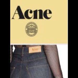 Acne Denim - Acne mid rise boot cut jeans