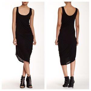 Michael Stars Dresses & Skirts - Michael Stars Modal Tank Asymmetrical Dress S