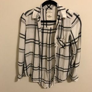 American Eagle Outfitters Tops - American Eagle Flannel Shirt - size small