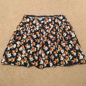 Delia's Dresses & Skirts - Floral skirt with pockets