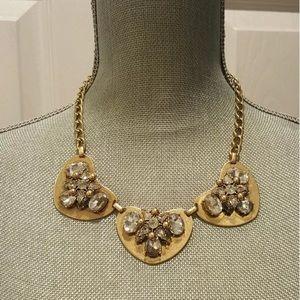 J. Crew Jewelry - J. Crew Heart Statement Necklace