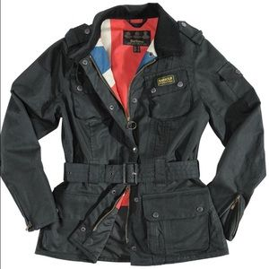 Barbour Jackets & Blazers - NWT Barbour Antique Union Jack Jacket - size 4 US