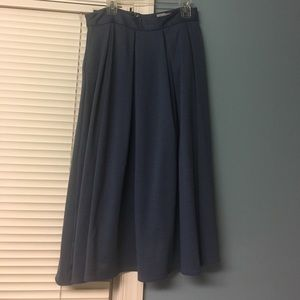 Asos midi pleated skirt with pockets