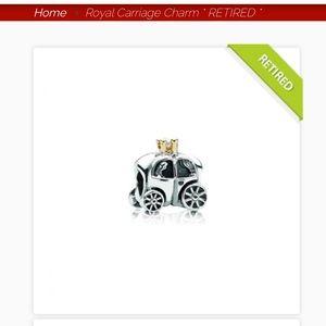 Pandora Jewelry - Retired Pandora Royal Carriage Charm