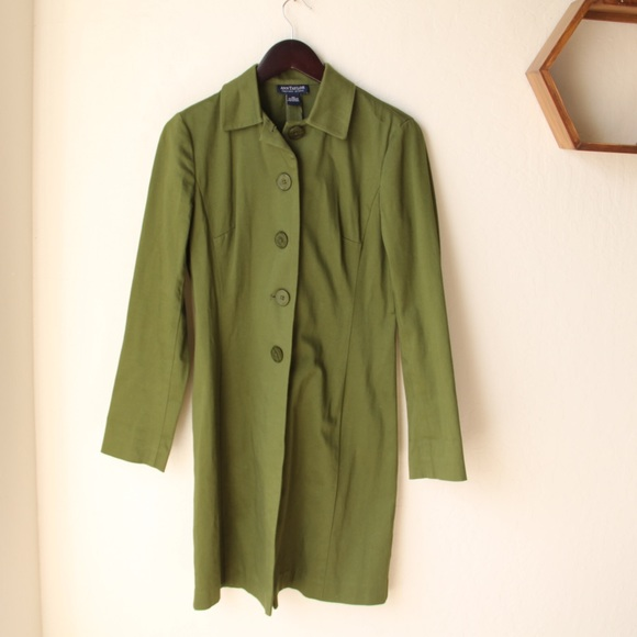 Ann Taylor - Ann Taylor Green Fitted Jacket from Mybeautypocket's ...