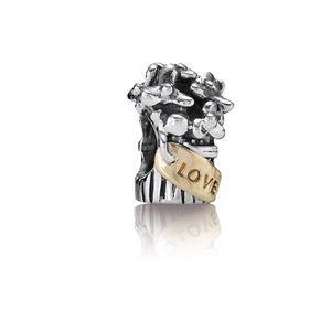 Pandora Jewelry - Retired Floral Bouquet Pandora Charm