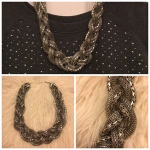 H&M Jewelry - Fun statement rope chain necklace. Never worn.