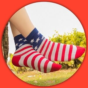 Accessories - American Flag Socks