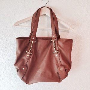 Aldo Handbags - New Aldo brown faux leather bag purse horse bit