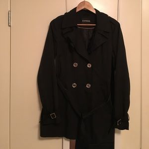 Express Jackets & Blazers - Express black petty coat.