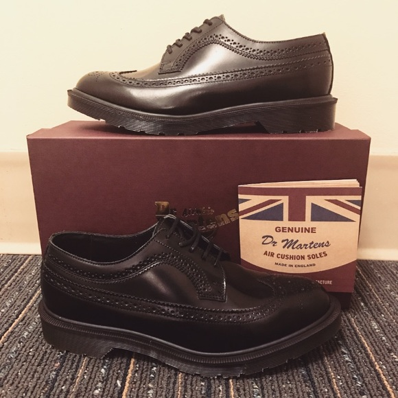 0f65f5554fac2 Dr. Martens Shoes | Dr Martens Made In England 3989 Leather Brogue ...
