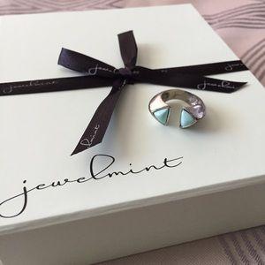 Jewelmint Jewelry - Aqua Bomb Ring