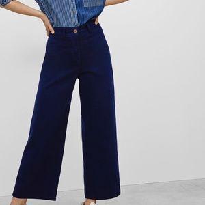 Aritzia wide leg ankle jeans