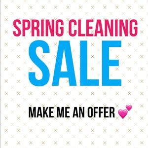 *SPRING CLEANING - make me an offer on all items *