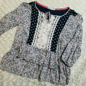 Jolt Tops - Boho crochet Lace Top