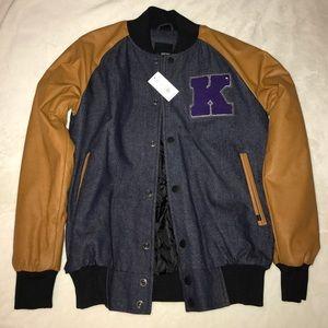 KR3W Other - NWT KR3W 'K' Varsity jacket