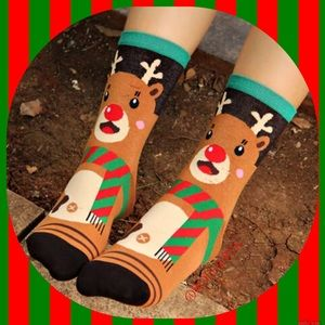 Accessories - Reindeer Socks