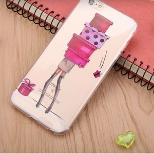 Fashion Girl iPhone Fitted Silicone Case