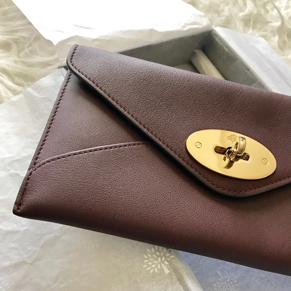 Mulberry Darley Wallet Oxblood 5ed06aef1e573
