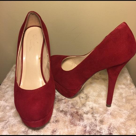 Cherry Red Heels
