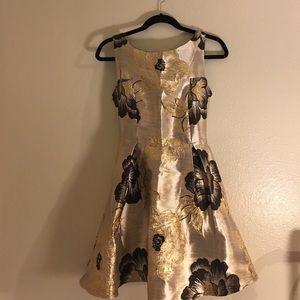 Peony Jacquard Dress