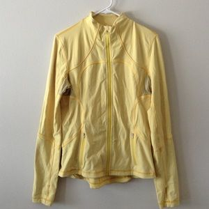 Lululemon yellow Define jacket