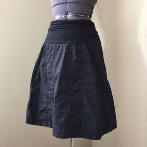 Motherhood Maternity Dresses & Skirts - Motherhood Maternity Black A-Line Skirt