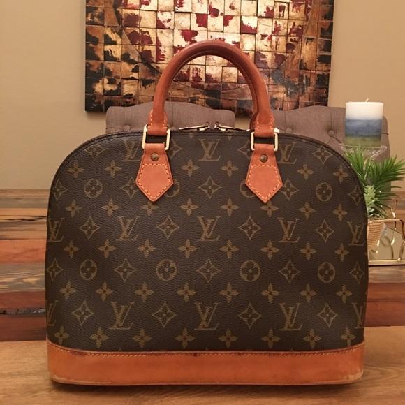 Louis Vuitton Bags   Soldauthentic Alma Pm   Poshmark e0ad80e3cf