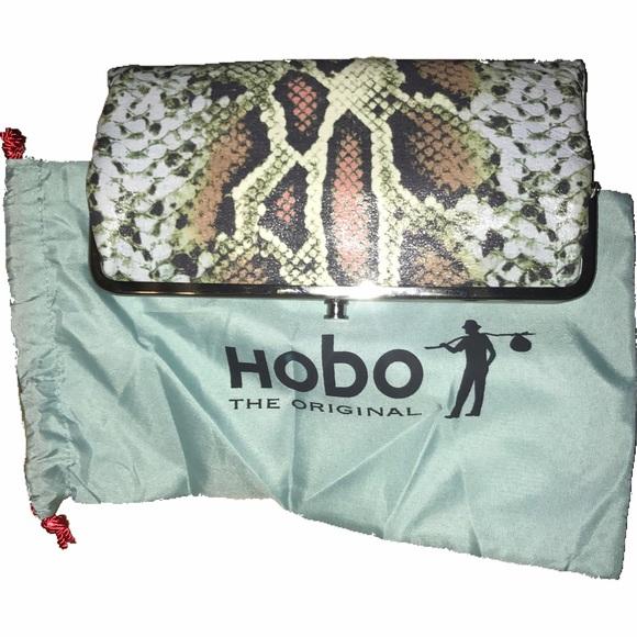 35d3878c8 HOBO Bags | The Original Bengal Python Lauren Wallet | Poshmark