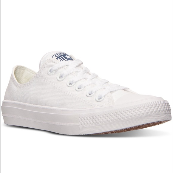 Optical White Converse Chuck Taylor II Ox Sneakers 90f4dc41071