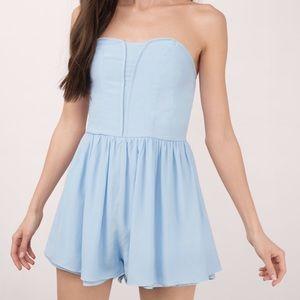 Tobi Dresses & Skirts - Tobi light blue romper S