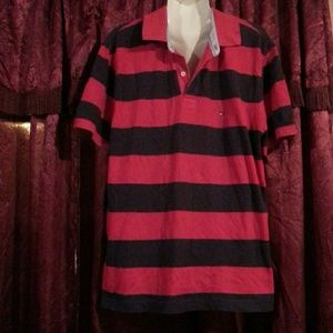 Tommy Hilfiger Other - Tommy Hilfiger blue and red shirt