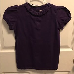 Janie and Jack Other - Pretty purple- colored girl's top. Size 10