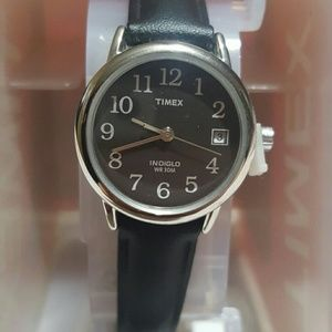 Timex Accessories - Timex Ingiglo Night-Light Genuine Leather Strap