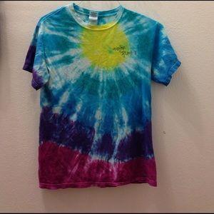 Gildan Tops - Women's small tie dye shirt