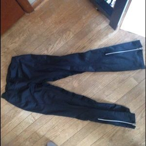 Nike athletic pants, with warm interior.